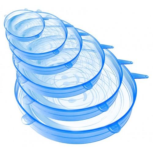 Reusable Flexible Silicone Lids