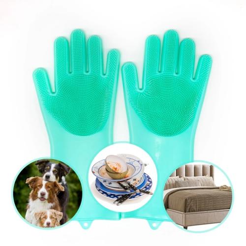 Dishwashing Gloves With Brush