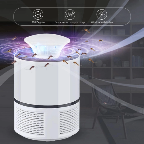 Electric or USB Mosquito and Insect Trap