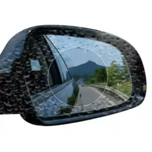 2-Piece Anti Fog Rainproof Film for Rear Mirror