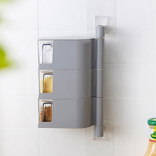 Rotating and Wall-Mounted Drawers For Kitchen and Bathroom