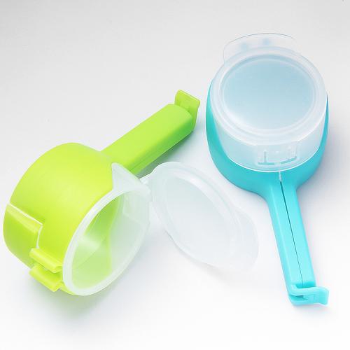 Food Bag Sealing Clip with Pour Spouts
