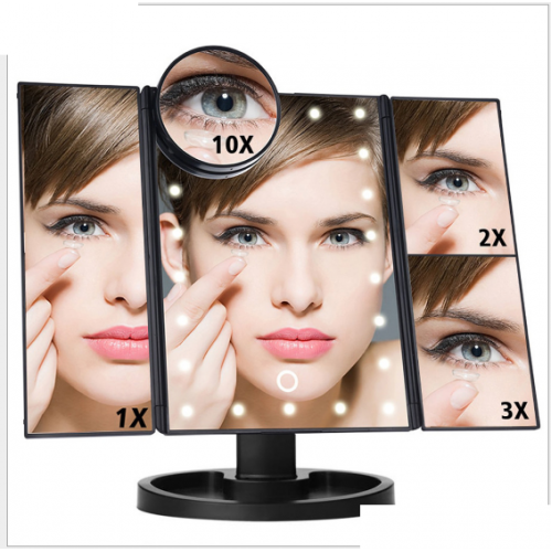 LED Makeup Mirror and Magnifier